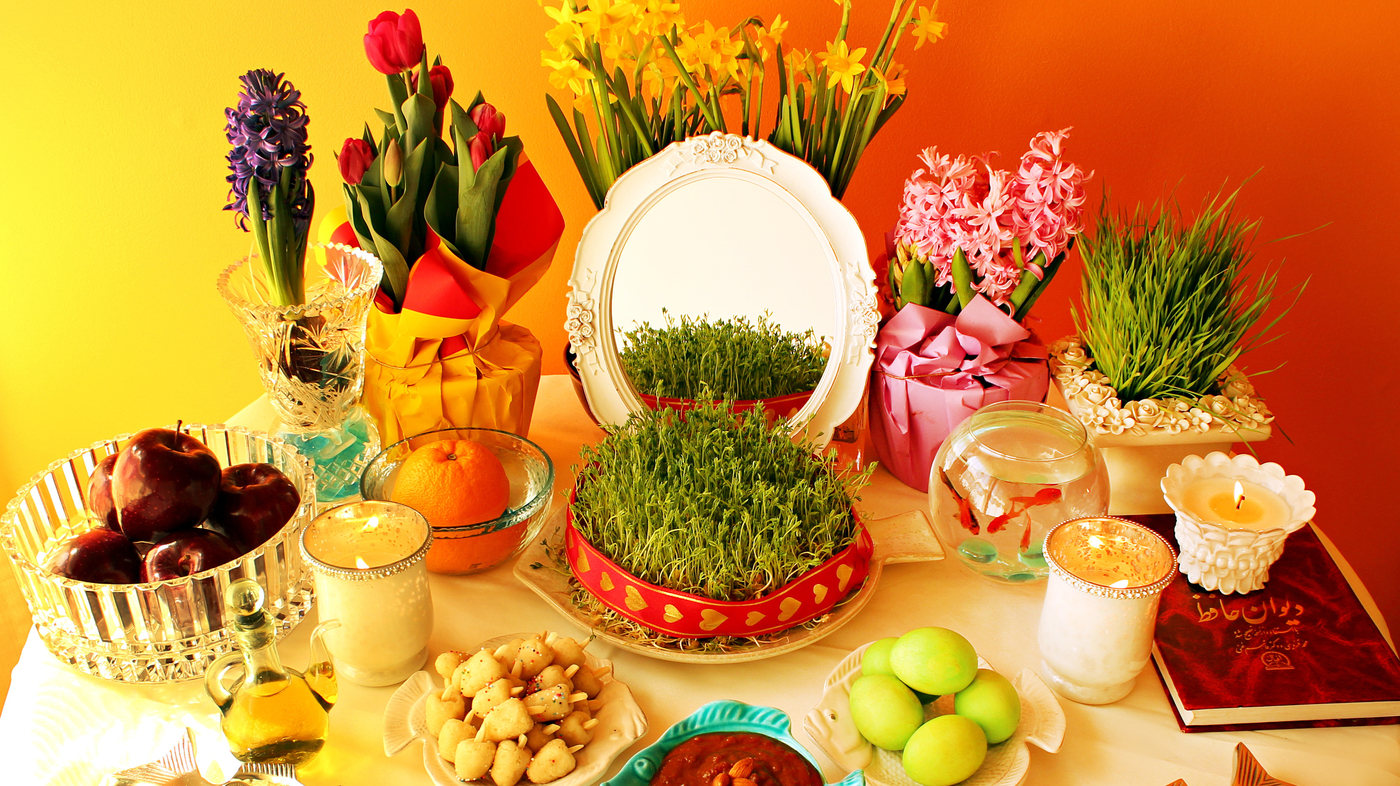 Iranian new year pictures